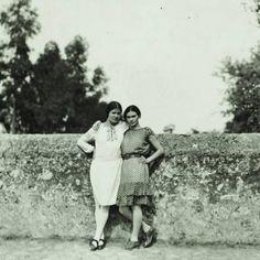 Tina and Frida, 1928.