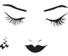 """Résultat de recherche d'images pour """"image femme visage dessin"""""""