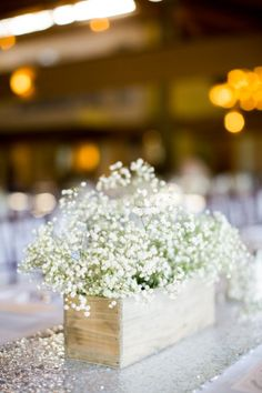 Baby's breath: http://www.stylemepretty.com/california-weddings/carmel-valley/2015/03/26/rustic-meets-modern-carmel-valley-ranch-wedding/ | Photography: Brittrene - http://brittrenephoto.com/