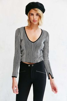 Silence + Noise Darcy Sweater - Urban Outfitters