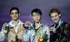 Figure skating. ISU Grand Prix Final. Awards ceremony