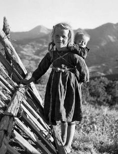 """""""'With my brother' Greece Photo by Takis Tloupas"""" Vintage Pictures, Old Pictures, Old Photos, Greece Pictures, Greek History, Yesterday And Today, Historical Photos, The Past, Black And White"""
