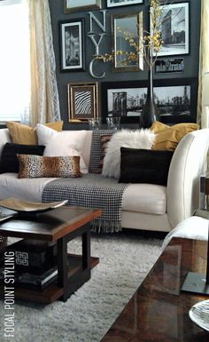FOCAL POINT STYLING: Transform a Rental House to Home: Using Thrift Window Panels