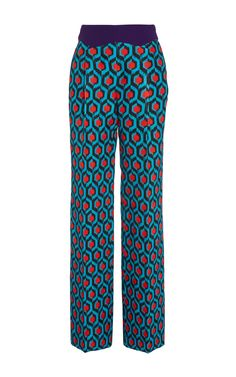 Widelegged Pleated Trousers by DELPOZO for Preorder on Moda Operandi