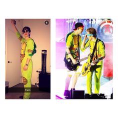 I'm sorry…but the fact that they're wearing the same costume…