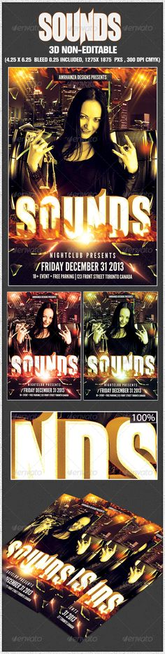 Stripper Show Gentlemen Club Flyer Poster #GraphicRiver Template - benefit flyer templates