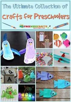 196 Preschool Craft Ideas: The Ultimate Collection of Crafts for Preschoolers