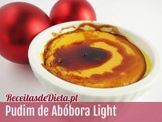 Receita de Pudim de Abóbora Light #receita #dieta #fitness