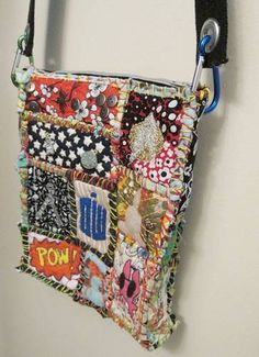 Teesha Moore patch bag by LovelyMiss