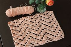 Lacy Crochet: Lacy Ripple Crochet Stitch