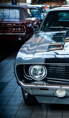"""h-o-t-cars: """"Ford Mustang & Chevrolet Camaro SS 427 