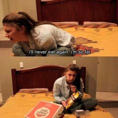 You've said that you are so full that you'll never eat again, and then eaten again…20 minutes later. | 24 Things Only Girls Who Are Constantly Hungry Will Understand