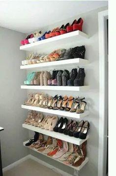 Closet shoes