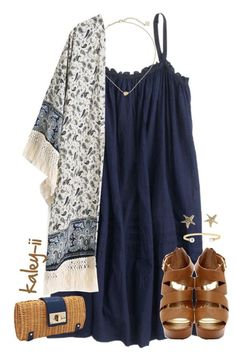 """"""""""" by kaley-ii ❤ liked on Polyvore featuring J.Crew, Kate Spade, Tory Burch and Kendra Scott"""