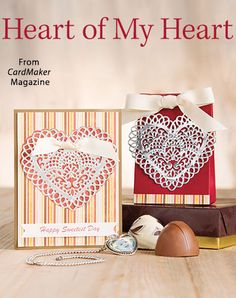 Heart of My Heart from the Autumn 2016 issue of CardMaker Magazine. Order a digital copy here: https://www.anniescatalog.com/detail.html?prod_id=132520
