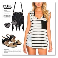 """""""YOINS.com"""" by monmondefou ❤ liked on Polyvore featuring Yves Saint Laurent and yoins"""