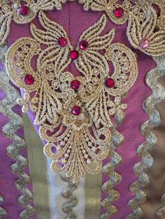 Corset close up of Repro Russian Court Wedding Gown