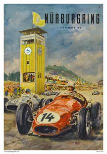 1957 GP de Alemania en Nurburgring
