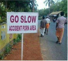 Yes, slow… nice and slooooow…