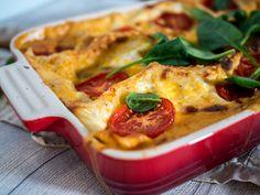Kasvislasagne vailla vertaa Mashed Potatoes, Good Food, Treats, Ethnic Recipes, Lasagna, Sweet Like Candy, Shredded Potatoes, Sweets, Yummy Food