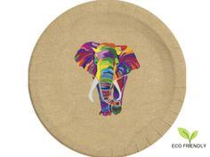 Tanierik EKO Elephant Elephant, Plates, Tableware, Licence Plates, Dishes, Dinnerware, Griddles, Tablewares, Elephants