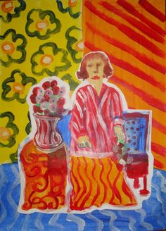 Create A Matisse Masterpiece - A Kids Art Project On Patterns
