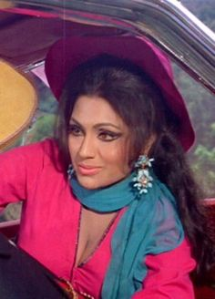 Bindu defined the Bollywood cabaret dance number and the role of the vamp. Classic Bollywood representations of the bad girl..