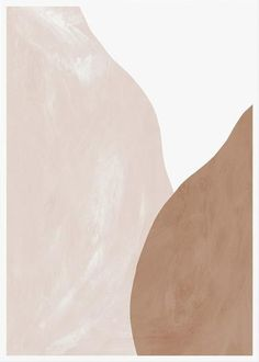 Pale Beige and Terracotta Figures Abstract Print, Abstract Wall Art Brown Aesthetic, Aesthetic Art, Cute Wallpapers, Wallpaper Backgrounds, Beige Wallpaper, Abstract Wall Art, Abstract Paper, Photo Wall Collage, Minimalist Art