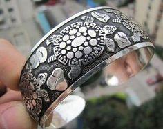 Silver Turtle Tibet Bracelet - FREE SHIPPING! $6.99