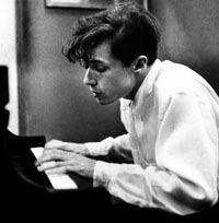 """Glenn Gould: """"I believe that the justification of art is the internal combustion it ignites in the hearts of men .... The purpose of art is ... the gradual, lifelong construction of a state of wonder and serenity."""""""