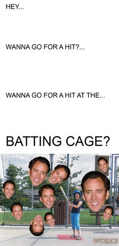 Lawl.. you will love this! Baseball anyone