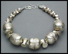 SILVER QUEEN Handmade Ethiopian and Mayan by sandrawebsterjewelry, $299.00