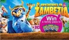 Win Tickets To Adventures In Zambezia Win Tickets, Rock Concert, Adventure, Fun, Adventure Movies, Adventure Books, Hilarious