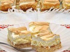 Rákóczi túrós lépésről-lépésre Cake Cookies, Food Styling, Vanilla Cake, Cheesecake, Food And Drink, Pie, Cooking, Sweet, Recipes