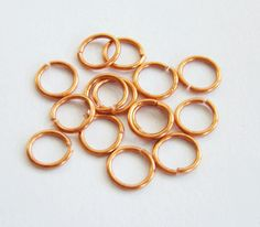 make your own  jump rings. this will come in handy when I find the time to make some chain maille jewelry