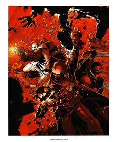 Wu Massacre page 6 - Chris Bachalo - Arkham Comics 7 rue Broca 75005 Paris