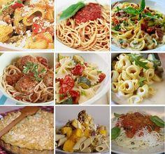 Množstvo skvelých receptov z cestovín zo stránky NAJLEPŠIE pozbierané RECEPTY...