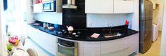 Apartamento 3 Quartos Decorado Terra Mundi Parque Cascavel - Cozinha e Área de Serviço 180º