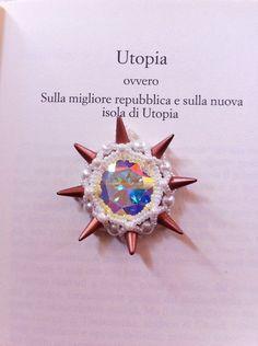 Pattern Pendant  Utopia    Rivoli Swarovski 27 von JessyPetitBijoux