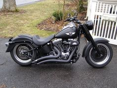 FatBoy Lo pics with Shotgun... - Harley Davidson Forums Not too keen on the pipes but like the forward controls. I've been planning on installing them.