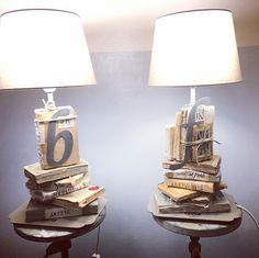 m'illumino di libri   books lamp