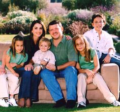 King Abdullah of Jordan Family | king_abdullah_ii_queen_rania_family_061221_handout