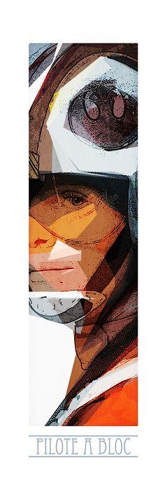 Luke Pilote ! Retrouvez toute la Série POP CULTURE Limitées en 10 Exemplaires Numérotés et proposés sur support rigide au format 90cm x 35cm