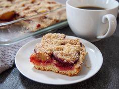German plum cake (pflaumenkuchen) - Caroline's Cooking Appetizer Recipes, Snack Recipes, Dessert Recipes, Desserts, Brunch Recipes, Seafood Recipes, Chocolate Peanut Butter Smoothie, Chocolate Recipes, German Plum Cake