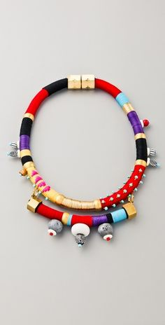 Collar with Stones. #Holst+Lee