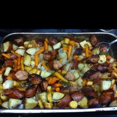 I love sausage recipes