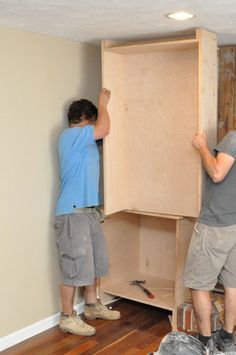 Yup, that's what I want! Building Built-In Cabinets and Shelves (part 1) - One Project Closer