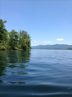 Lake George NY I took this picture while rowing out in a canoe. That's Tea island. Lake George Ny, Lake George Village, Wonderful Places, Beautiful Places, Summer Vacation Spots, Fun Winter Activities, Adirondack Mountains, Camping Photography, Lake Life