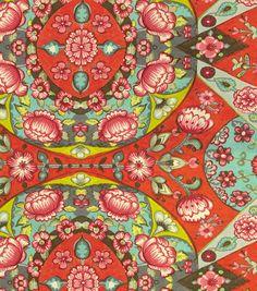 Reflection Pool/Earl Grey upholstery fabric