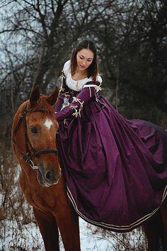 Violet Renaissance Jahrhundert italienische von FiorentinaCostuming